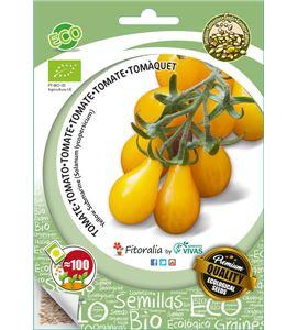 """Sobre Semilla ECO Tomate Cherry Bombilla Amarillo """"Yellow Submarine"""" - 04082004 (1)"""