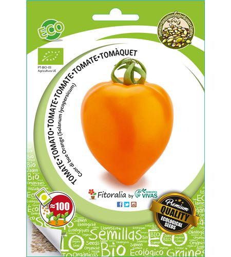"""Sobre Semilla ECO Tomate """"Cuor di bue Orange"""" - 04082014 (0)"""