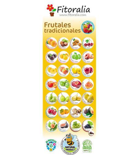 Cartel Catálogo Frutales Castellano. Gratis con implantación 50 frutales. - 23550021 (1)